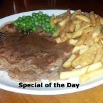 The Special of the Day, while I visited...Lovely !
