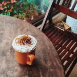 摩卡橘子咖啡