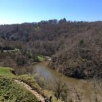 The river Creuse at Crozant