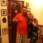 Yo con Luis Miguel :)