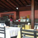 Espaço do restaurante.