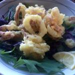 Calamari Salad, another of my wife's favorites