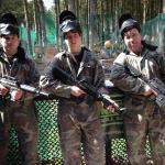 At the shooting range!