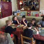 Les enfants ont dévoré leur repas