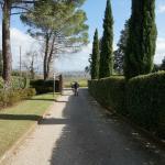Looking down towards entrance of Raccianello