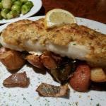 Horseradish crusted haddock