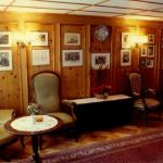 The famous Alpine Club Room at Monte Rosa