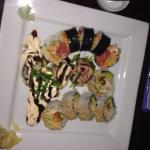 Delish Sushi! Let the chef decide and we didn't regret it!