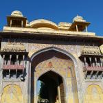 Entrance to Jaipur's City Palace