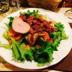 salade chalet