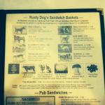 Rusty Dog's Sandwich Baskets Menu