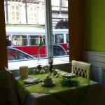 Easter breakfast table!