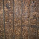 Small sample of the walls in the dining room.