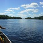 Canoeing down the Chippewa River