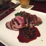 Sauteed Duck Breast dinner