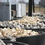 Barrels of corks