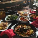 Weekend brunch-3 tapas for $20 and $2 sangria