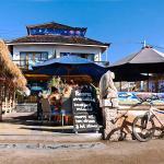 Gili Trawangan Diving Center with our Resort/Burger Restaurant and Bar