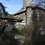 Umgebung/ kurze Wanderung: Burg Klamm