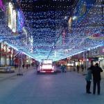 太原街步行街夜景
