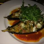 Delicious aubergine!!! Must try - if you like healthy and light dinner!!!