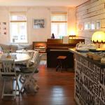 Café-Wohnzimmer