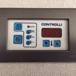 Room a/c unut control with damaged buttons