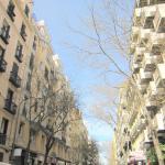 Calle de Andrés Mellado a la altura del restaurante