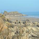 Overlooking Monkstone Point and beach