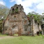 Les ruines de l'Eglise