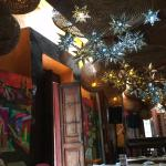 Combination of fine mexican art , great food and service