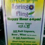 Old Brogue Spring 2015 Happy Hour deals