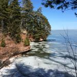 Hiking outside Bayfield