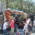 The Truck on Location at Anaheim Convention Center