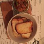 Starter - salmon tartar