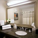 Enjoy spacious vanities in our standard rooms