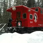 Caboose (instead of a cabin rental!)