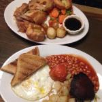 Sunday Roast and Full English Breafast - Without Sausages and Bacon