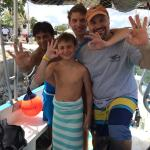 "Sergio showed us a great time ""under the sea""! Thanks for being so patient with my boys learning"
