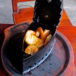 Grilled shrimp (camarones a la plancha)