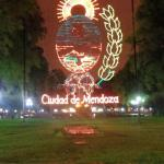 Mendoza main plaza where vendor sell their wares