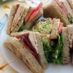 Club Sandwich, Lakeside Cafe, Mountain View, Ca