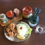 Fried Chicken with Local Sake