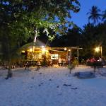 Koko restaurant, right on the beach, fresh food at a great price