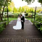 Wedding Couple on the renaissance deck