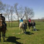 Trail Ride at Sunburst Horsemanship School