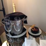 Very welcome birthday surprise from The Mondrian !
