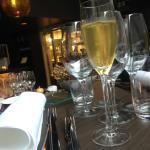 Ett glas prosecco innan maten (ingår ej i något dryckespaket)