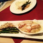 Scallops and Crab Coquille