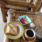 Very basic breakfast